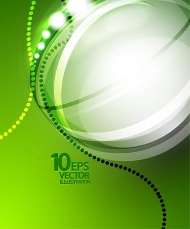 brochure cover: Futuristic bubble background