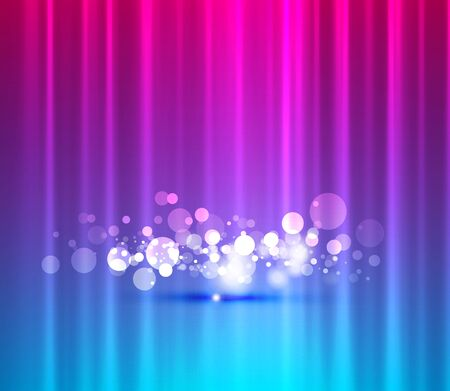 Vector abstract lights background photo