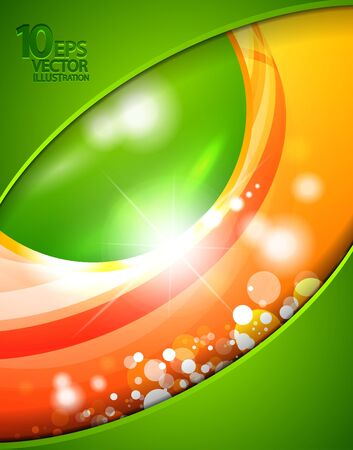 Hi-tech shiny techno bubble background Stock Vector - 12491387
