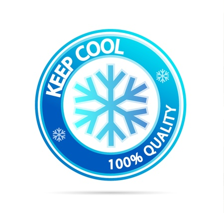 cold temperature: Keep cool