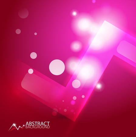abstract geometric background Stock Vector - 12493162