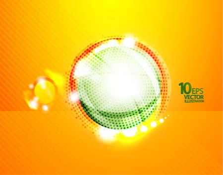 Hi-tech shiny techno bubble background Stock Vector - 12493182