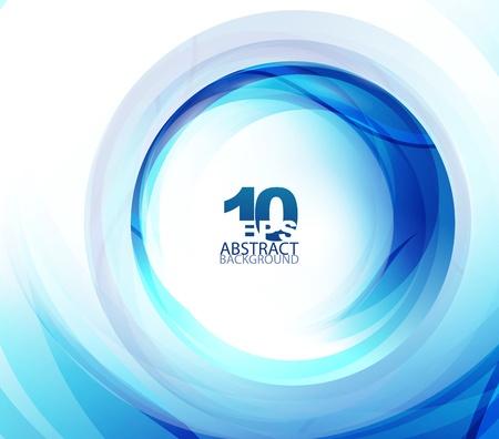 Blue swirl achtergrond