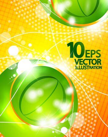 Hi-tech shiny techno bubble background Stock Photo - 12501371