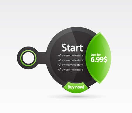 Modern web box Stock Vector - 12492042