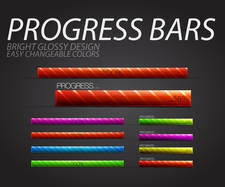 Progress bars photo