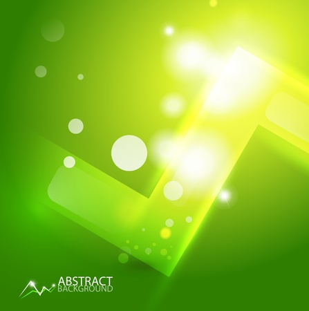 Vector abstract geometric background Stock Photo - 12501313