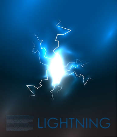luminance: abstract lighning background