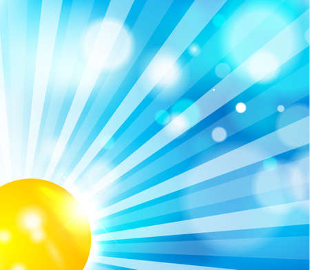 Sun and sky background Stock Photo - 12501862
