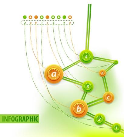 cronologia: Infograf�a fondo Cronolog�a Vectores