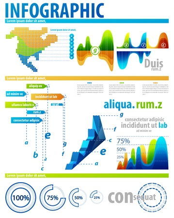 Infographic elements Stock Vector - 12493566