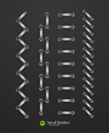 dividers Vector