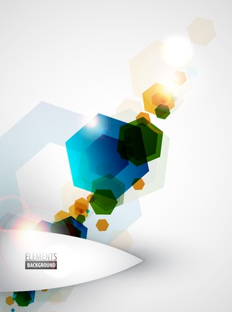 technical abstract: Abstract geometric background