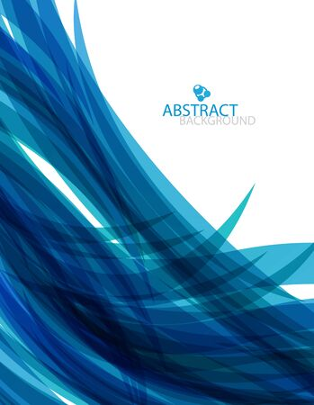Abstract blue wave Stock Vector - 13002954