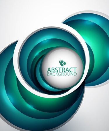 Circle abstract background Stock Vector - 13002043