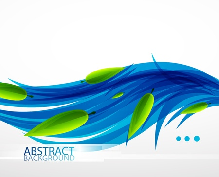 Vector nature abstract background Stock Vector - 13002950