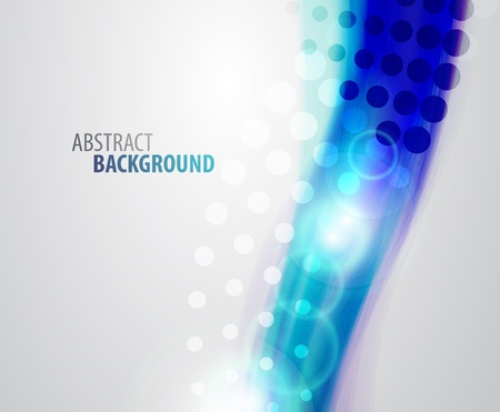 Abstract vector waves background Vector