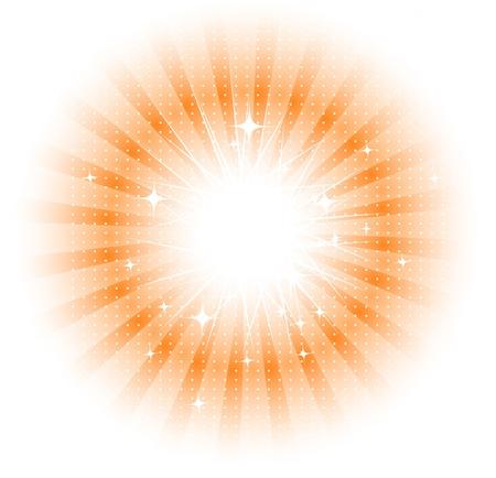 Vector isolated sun rays Vector