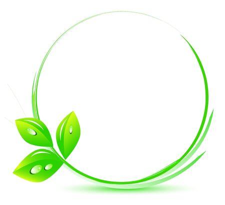 Global leaf green concept
