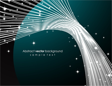 Dark space background Vector