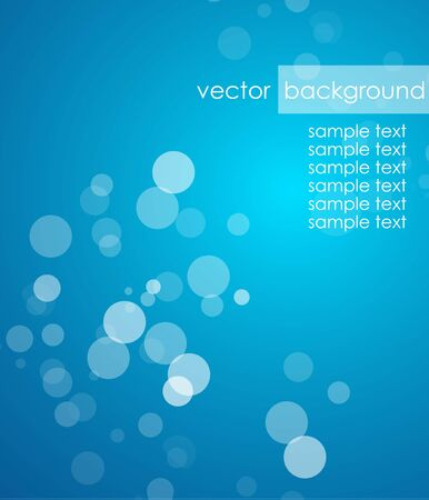 Blue deep background Stock Vector - 13229461