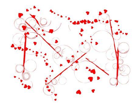 Valentine s day background Stock Vector - 13229399