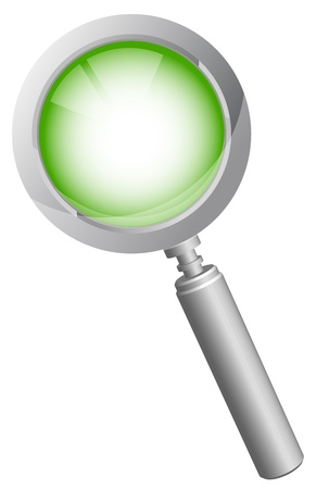 Magnifying glass Stock Vector - 13229466