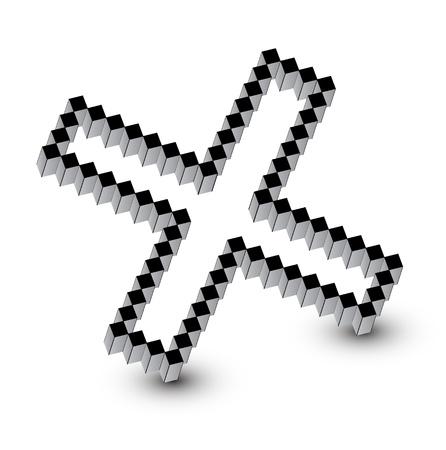 Cross design Vector