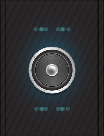 Speaker design Stock Vector - 13254502