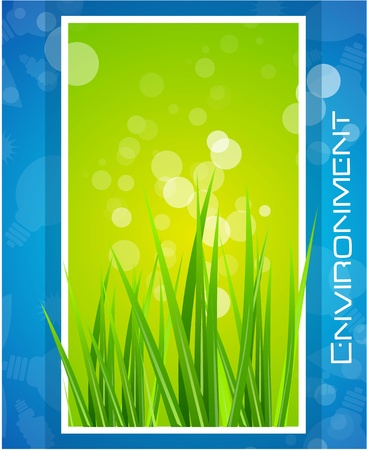 Nature screen concept background Vector