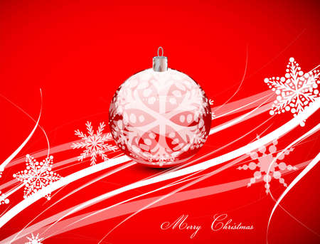 Red Christmas lines background Stock Photo - 13269882