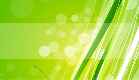 Grass wave lines natural background Vector