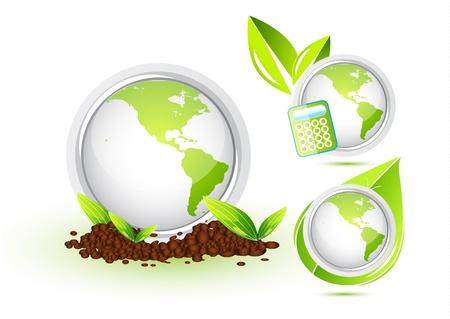 Eco Globe Stock Vector - 13269971