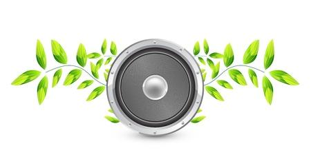 Vector natural speaker concept Stock Vector - 13314521