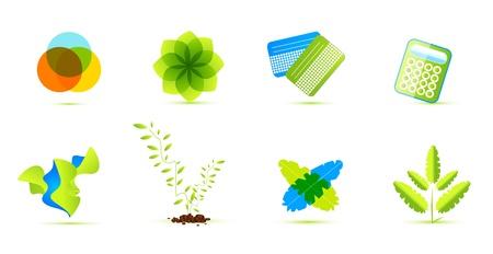 Ecological vector icons Vector