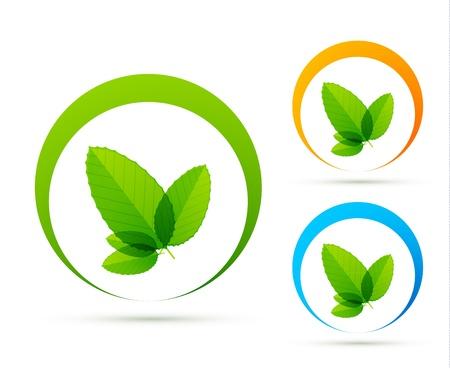 Green concept icons Stock Vector - 13400747