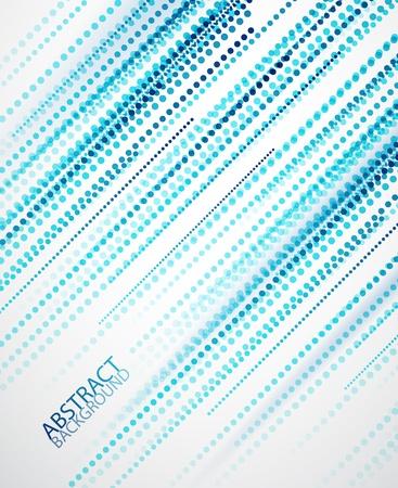 Rechte blauwe lijnen achtergrond Stock Illustratie