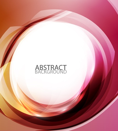 Abstract red energy background Vector