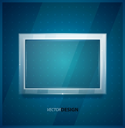 opacity: Glass screen background Illustration