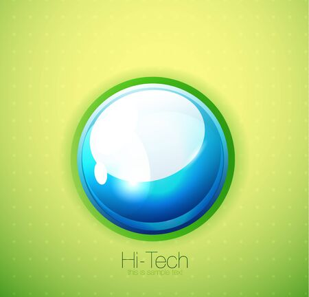 Liquid bubble background photo