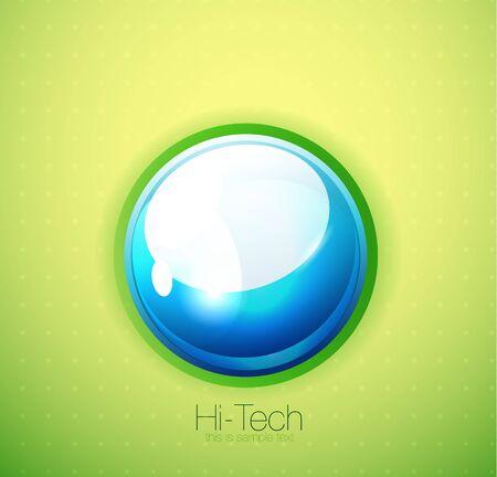 Liquid bubble background photo