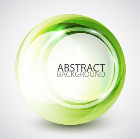 Abstract swirl sphere background photo