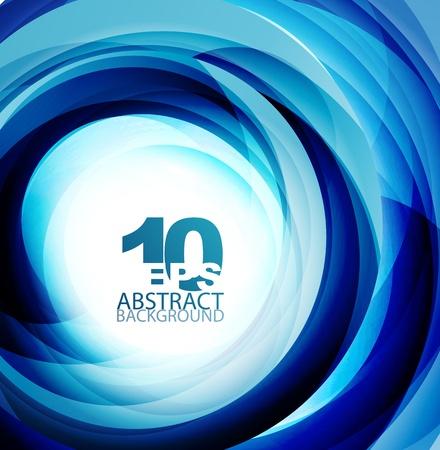 blue swirl: Blue swirl abstract background
