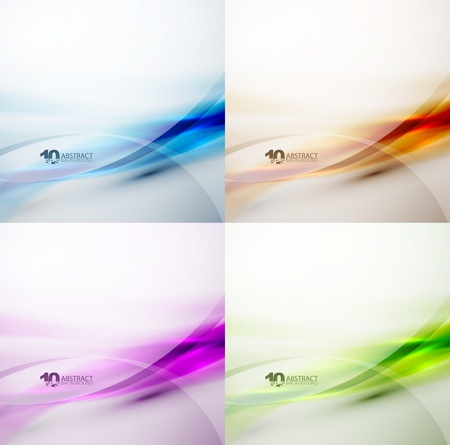 Wave color backgrounds Stock Photo - 13452588