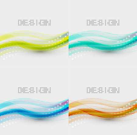 Abstract wave background Stock Vector - 13591632