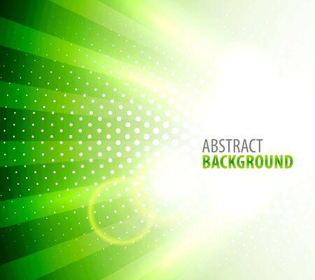 White light on green background Stock Vector - 13620585