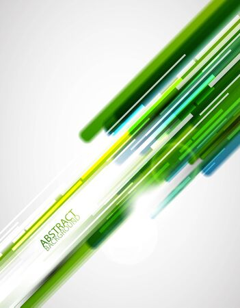Green straight lines background Stock Photo - 13673193