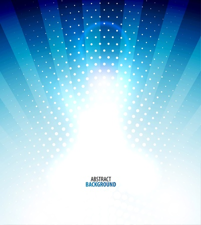 White light shiny abstract background Vector