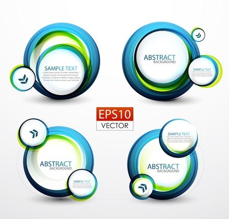 Bubble banners Stock Vector - 13828518