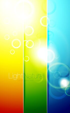 Colorful shiny backgrounds Vector